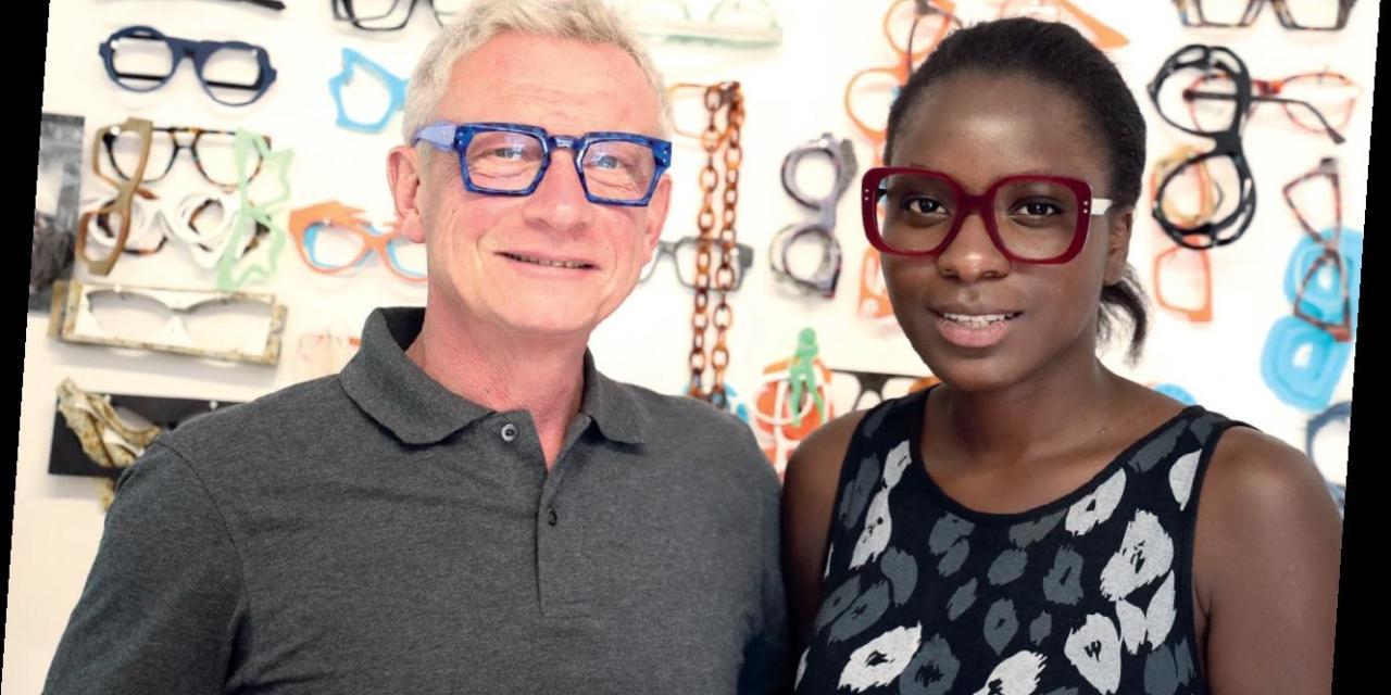 Patrice Pointet dessine des lunettes uniques