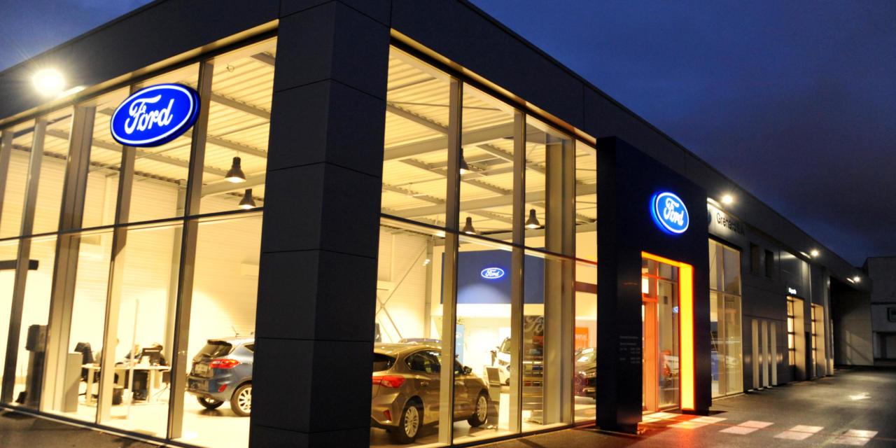 Concession Ford – Grenard, un nouvel écrin à Oyonnax