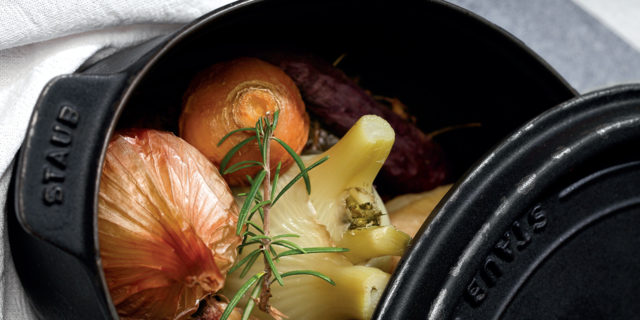 Recettes saines et gourmandes : Légumes en cocotte au tilleul