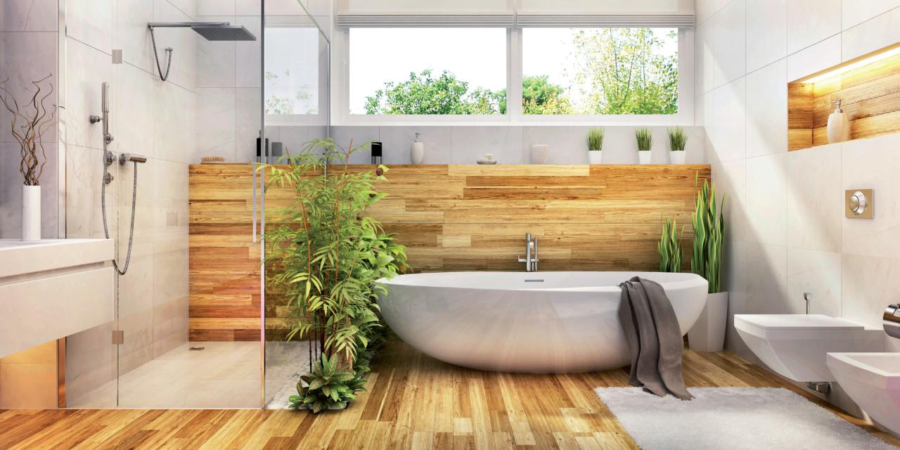 Salles de bains minimalistes