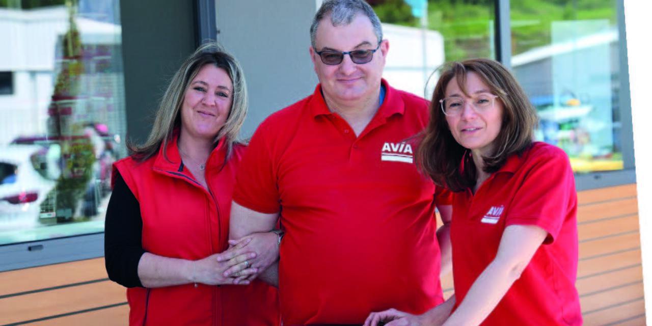 Chez Avia : une belle équipe à votre service