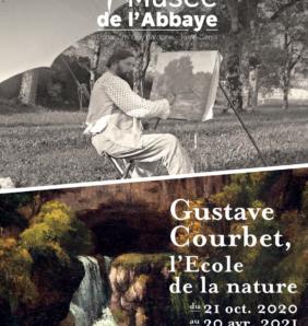 La nature selon Gustave Courbet au Musée de l'Abbaye